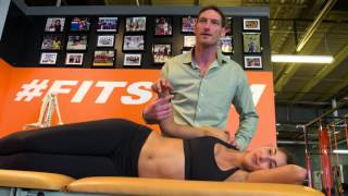 Chiropractor and Canadian beach volleyball Olympian Josh Binstock draws parallels between spiking ba