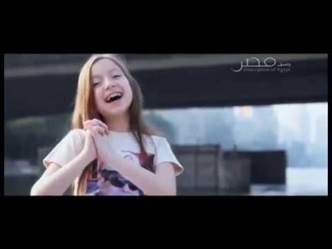 طفلة مصرية تهدى السيسى اغنية بمناسبة افتتاح قناة السويس