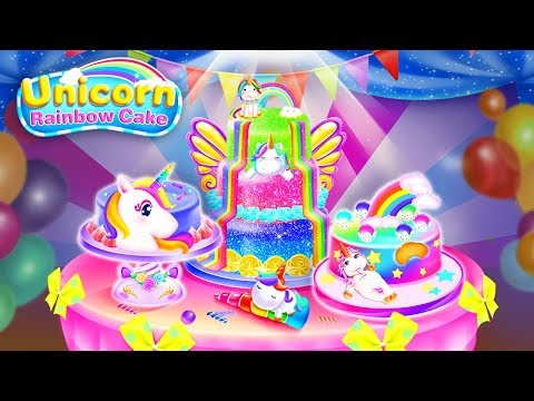 Unicorn Food-Cake Bakery Games By FunPop
