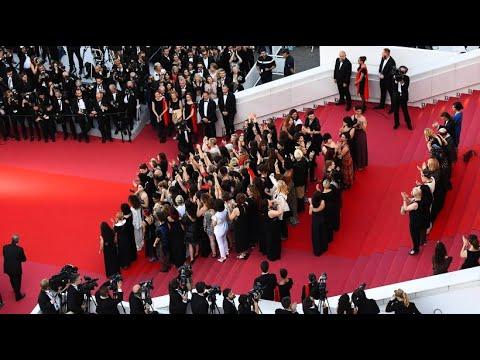 82 Frauen protestieren auf dem Filmfestival Cannes
