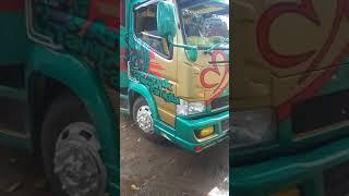 sticker cutting / truck modifikasi Mitsubishi canter