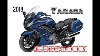 3. NEW 2018 Yamaha FJR1300ES SPECIFICATIONS