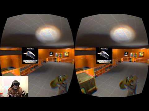 Half Life 2 avec l'Oculus Rift!