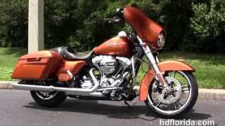 9. 2014 Harley Davidson FLHX Street Glide Motorcycles for sale - New Color