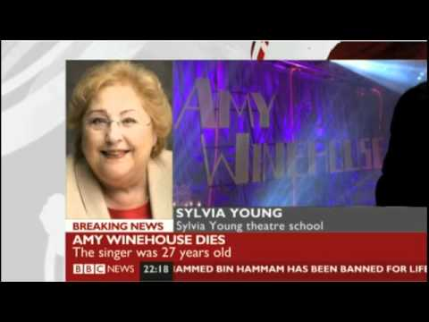 Sylvia Young talks about Amy when she was a child at her school