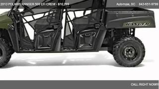4. 2013 POLARIS RANGER 500 EFI CREW CREW CAB 4X4 - for sale in Murrells Inlet, SC 29576
