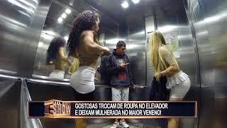 Download Video Garotas atrasadas trocam de roupa no elevador e causam uma tremenda confusão MP3 3GP MP4