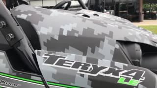5. 2018 Kawasaki Teryx LE  Matrix Camo