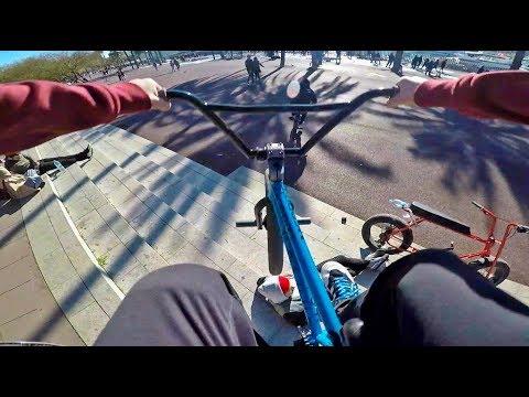 GoPro BMX Bike Riding in Barcelona, Spain (видео)