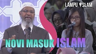 Video Novi MASUK ISLAM Setelah Dijelaskan Dr. Zakir Naik MP3, 3GP, MP4, WEBM, AVI, FLV Agustus 2018