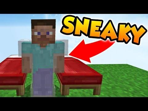 INVISIBLE ARMOR IN MINECRAFT BED WARS!