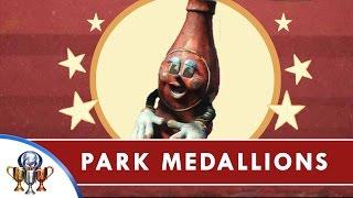 Fallout 4 Nuka World DLC - All Park Medallions for Precious Medals Quest