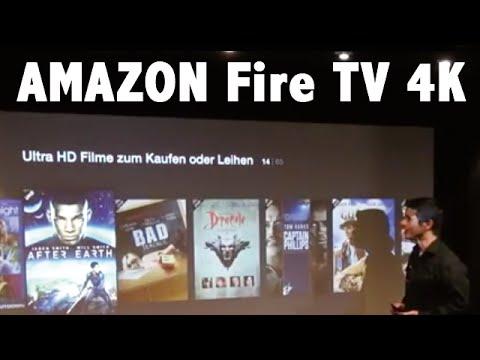 Amazon Fire TV 4K UHD im Test im HEIMKINORAUM.