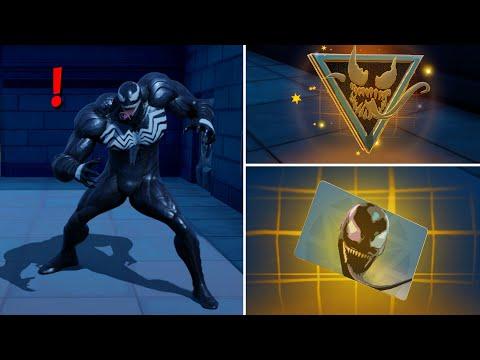 Fortnite All New Bosses, Mythic Weapons & Vault Locations, KeyCard Boss Venom in Season 4