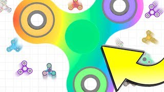 WORLD'S LARGEST FIDGET SPINNER...!!!  *WORLD RECORD*  Spinz.io Part 2 ▻Buy Master T-shirts Here:...