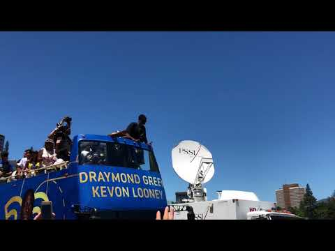 Warriors parade 2018: Draymond Green