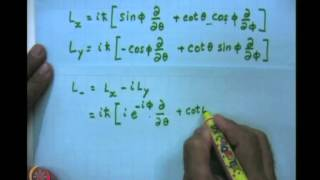 Mod-08 Lec-32  The Larmor Precession And NMR Spherical Harmonics Using Operator Algebra