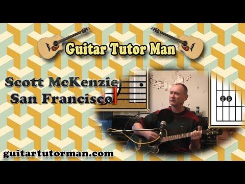 San Francisco – Scott McKenzie – Acoustic Guitar Lesson