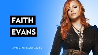 """Faith Evans On Sharing Legacy With The Notorious B.I.G. and Their New Album """"The King & I"""""""