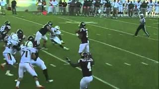 David Wilson vs Miami (2011)