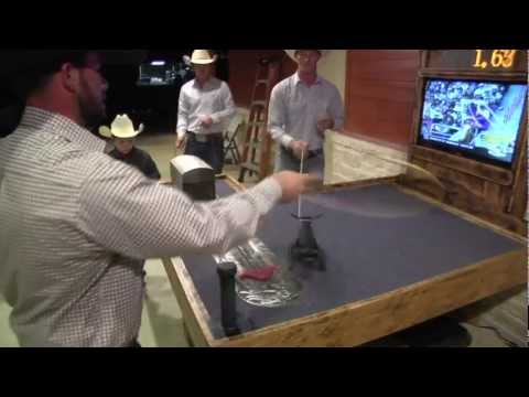 Let's Rope - Team Roping Table