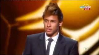 Neymar erhält Puskas-Award für den schönsten Treffer 2011