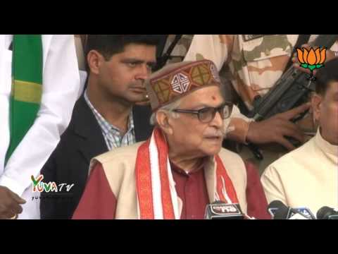 Byte by Dr. Murli Manohar Joshi after meeting with all India Farmers organisations