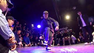 Bambi vs Iron Bear – 2019 대스미이스 Popping BEST16