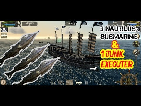 The Pirate: Plague of the Dead 3 NAUTILUS SUBMARINE AND 1 JUNK EXECUTER   Conquering every town on t