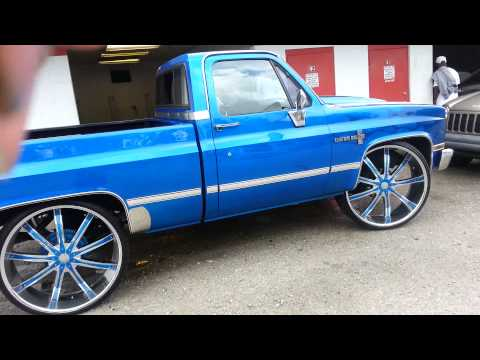 Candy Blue Shortbed on 30s