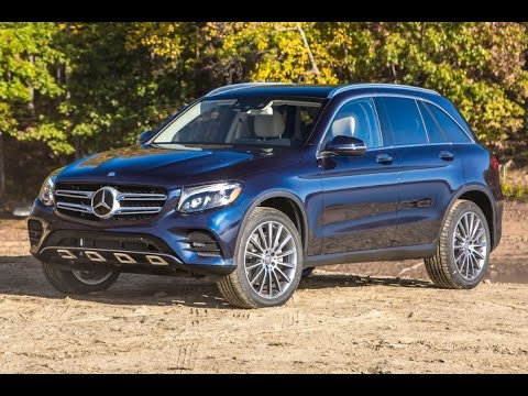 2016 Mercedes-Benz GLC Class (GLC300) Start Up and Review 2.0 L Turbo 4-Cylinder