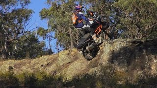 9. KTM1190 Adventure R Chris Birch low flying