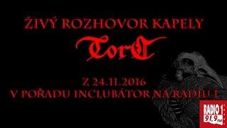 Video Torc - Rozhovor z pořadu Inclubátor (24.11.2016)