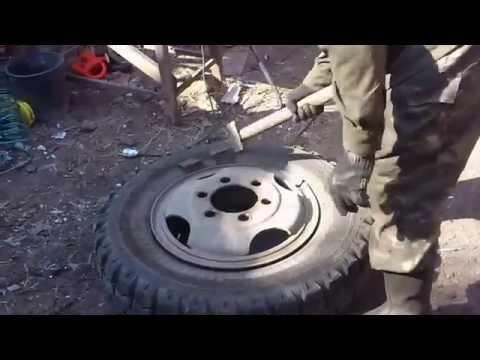 Перебортировка колеса своими руками