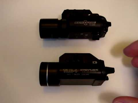 Streamlight - A run thrugh of two different weapon light offerings.
