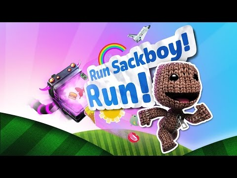 RUN SACKBOY RUN!!! IPad Gameplay | Kid Gaming