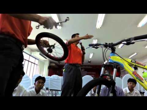 สอนล้างโซ่จักรยาน