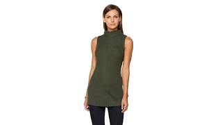 G by Giuliana Mock Neck Sleeveless Sweater