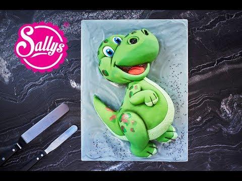 Dino Torte / Kindergeburtstag / Dinosaurier Motivtorte 3D