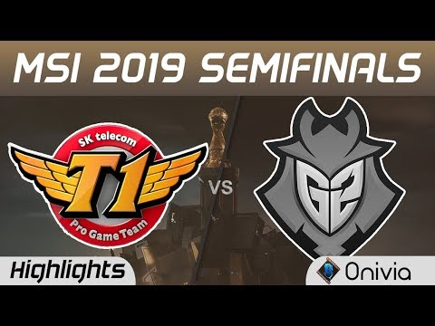 SKT Vs G2 Highlights Game 5 MSI 2019 Semifinals SK Telecom T1 Vs G2 Esports By Onivia