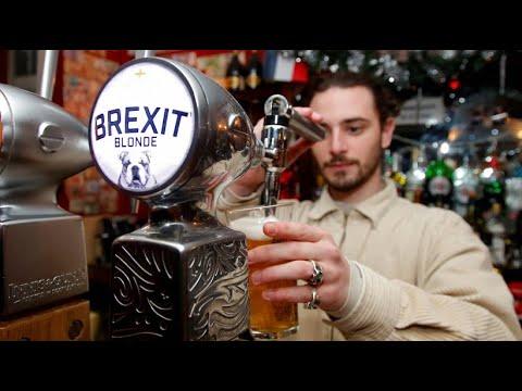 Brexit-Bier: In einem Pariser Pub fließt es in Ströme ...