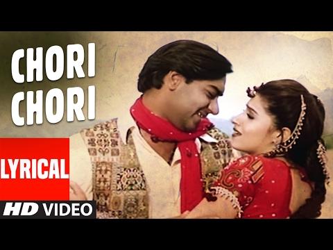 Video Chori Chori - Itihaas - Lyrical Video | Ajay Devgan, Twinkle Khanna | Alka Yagnik, Kumar Sanu download in MP3, 3GP, MP4, WEBM, AVI, FLV January 2017