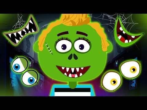 Guess the Missing Face | Wrong Face Len | Halloween Rhymes by Hoopla Halloween