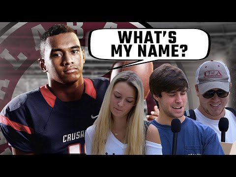WATCH: Alabama students try to pronounce 4-star QB commit Tua Tagovailoa's name