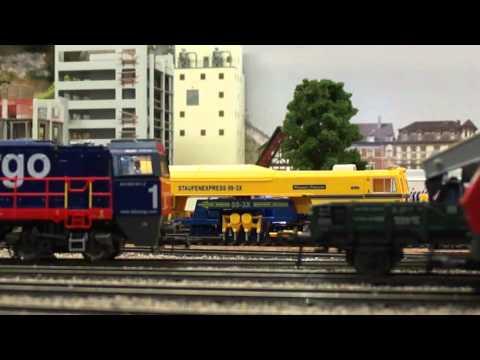 Werdenberger Eisenbahn-Amateurklub WEAK Buchs Fahrtag 2015