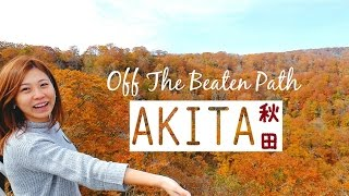 Akita Japan  city photos : Travel To Less Touristy Places In Japan: Akita Prefecture Travel Guide | 秋田県のおすすめ観光スポット