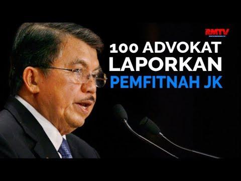 100 Advokat Laporkan Pemfitnah JK