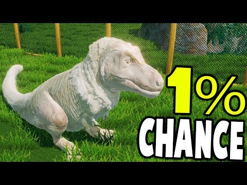 Prehistoric Kingdom - THE RARE ALBINO TREX, 1% CHANCE - Prehistoric Kingdom Demo Gameplay