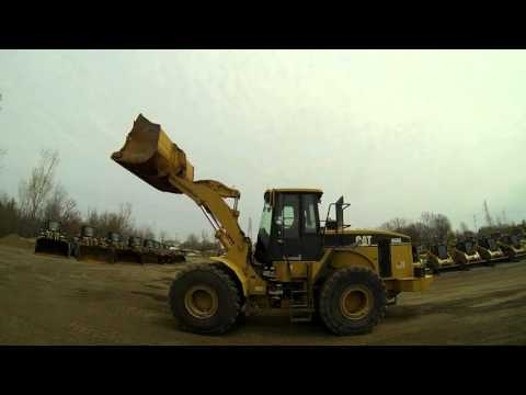 CATERPILLAR CARGADORES DE RUEDAS 966GII equipment video -SHHIfaInaM