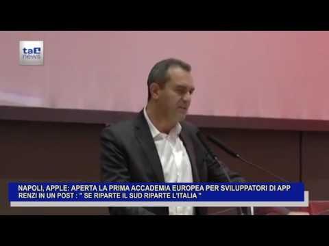 NAPOLI, APPLE: APERTA LA PRIMA ACCADEMIA EUROPEA PER SVILUPPATORI DI APP